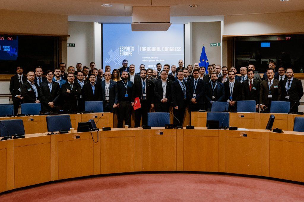 U zgradi Evropskog parlamenta u Briselu 21. februara zvanično je formirana Evropska esports federacija, sa 23 punopravne članice, od kojih je jedna i Srpska esports asocijacija.
