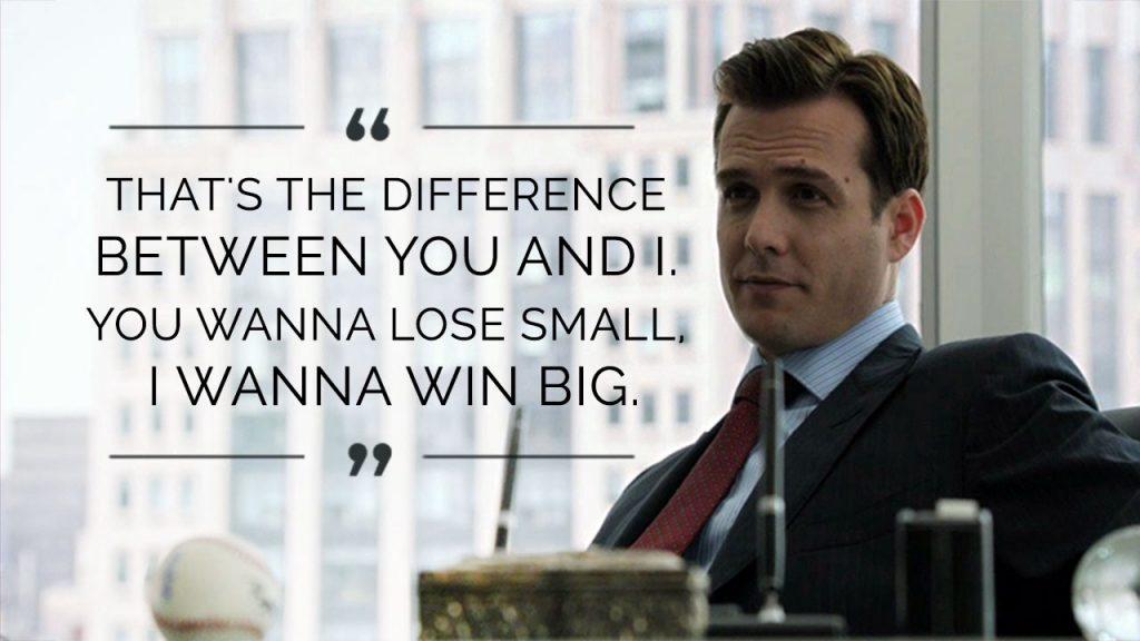"""Pravilaw broj 5: """"Nemojte težiti da izgubite malo, već da postignete mnogo"""""""