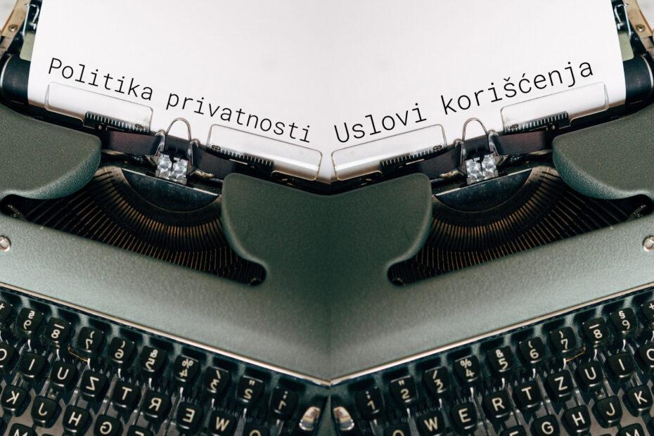 Politika privatnosti vs. Uslovi korišćenja